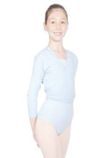 new girls roch valley ballet cardigan size 2 to 13years pink/blue/white/lilac