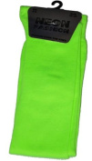 Womens Ladies Girls Neon Over The Knee Socks Choose From 4 Colours Size 4-6 UK EUR 35-38