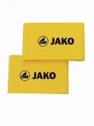 Jako Shin Guard Band Sock Ties (pair) - Yellow