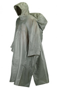 Trekmates Deluxe PAK Poncho Fully Waterproof - Olive | Olive