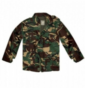 Boys 11-12 years DPM Woodland Camouflage Combat Jacket
