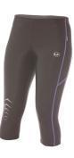 Ultrasport Women's Running Pants Capri with Quick-Dry-Function