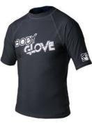Body Glove Mens Short Sleeved 180ml Lycra Rash Guard Vest