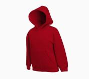 Fruit of the Loom Kids / Childrens Hooded Pullover Sweat Shirt, Hoodie, Sweatshirt