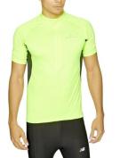Ronhill Men's Bike Short Sleeve Zip Tee