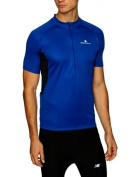 Ronhill Men's Bike Short Sleeve Zip Tee