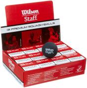 Wilson Staff Squash Balls - 1 dozen