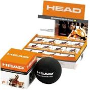 Head Championship Squashball Double Yellow Dot