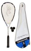 Browning Platinum Nano 130 Squash Racket + 3 Squash Balls RRP £280