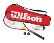 Wilson Squash Starter Kit Racquet - Multicoloured, 70cm