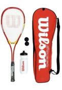 Wilson Red Squash Starter Kit RRP £39.99