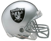 Riddell NFL Replica Mini Helmet Oakland Raiders - One Size Only