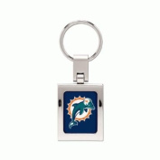 NFL domed premium key ring Miami Dolphins