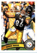 2011 Topps Football Card # 131 Hines Ward - Pittsburgh Steelers - NFL Trading Card