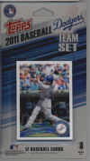 2011 Topps Limited Edition Los Angeles Dodgers Baseball Card Team Set (17 Cards) - Not Available In Packs