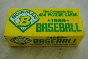 1989 Bowman Baseball Complete 484 Card Fasctory Set