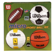 Wilson Micro Sports 4 Ball Kit - Multi