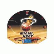 NBA High Definition Plaque Clock Miami Heat