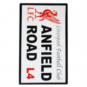 Official Football Club Street Sign Beach Towel