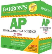 Barron's AP Environmental Science Flash Cards, 2nd Edition