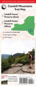 Catskill Mountains Trail Map, 3rd