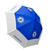 Chelsea Fc Tour Vent Golf Umbrella - Blue/White