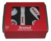 Arsenal Fc Players Golf Gift Set