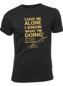 Leave Me Alone I Know What I'm Doing - Kimi Raikkonen quote t-shirt