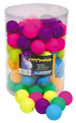 Donic Colour pops Table Tennis balls pack of 6 - Colours may vary