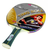 Butterfly Unisex Timo Boll Silver Table Tennis Bat - Silver, 26 cm