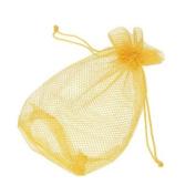 Mesh Net Golf Table Tennis Ball Bag Pouch--Yellow