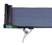 Schildkrot Team Clip On Net And Post Set Black/White Table Tennis Net