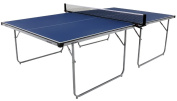 Butterfly Compact Outdoor Table Tennis Table Blue Top