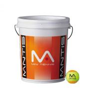 Mantis Stage 2 Orange Tennis Balls Bucket