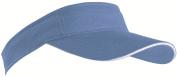 SPORTS SUN VISOR SANDWICH PEAK GOLF TENNIS CAP HAT - 12 COLOURS