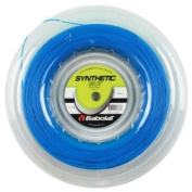 Babolat Synthetic Gut Tennis String 200m Reel Blue