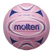 MOLTEN Hand Sewn Soft Touch Volleyball - White