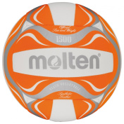 Molten Beach Volleyball - 5, White/Orange/Silver