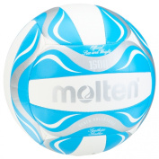 Molten Beach Volleyball - 5, White/Blue/Silver