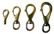 Beaver Brass Snap Hook No.0