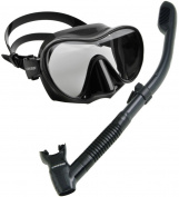 Cressi Scuba Diving Snorkelling Freediving Mask Snorkel Set