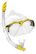 Cressi Matrix Mask & Gamma Snorkel Italian Made Snorkelling Set