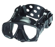 Pro Ear Scuba Diving Mask for all Around Ear Protection - All Black
