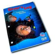 PADI Divers Blue Log Book