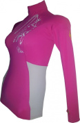 Ladies CSR Menace Long Sleeve RASH VEST. A Great womans Rash Vest From Crewsaver in there CSR range. Top Quality Lycra composite materials for a soft and comfortable wetsuit rashvest.