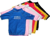 Childs (Age 2-3 years) (Size 1 BB) BLACK TWF Rash vest / UV Sun Guard. External Stitching For Superior Comfort.