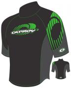 Opsrey Kiva Rash Vest in Green - Boys XXX-Small