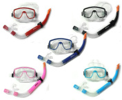 Silicone Mask & Snorkel Diving Set - Style 1 - Scuba Dive Snorkelling