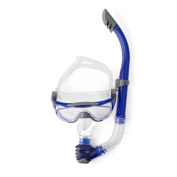 Speedo Glide Mask/Snorkel and Fin Set