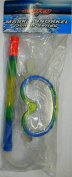 Osprey Childs/Junior Multi Coloured Mask & Snorkel Set